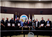 Fontana PD June Employees of the Month - Fontana Days Run Heroic Act with Runner