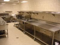 Catering Kitchen Countertops