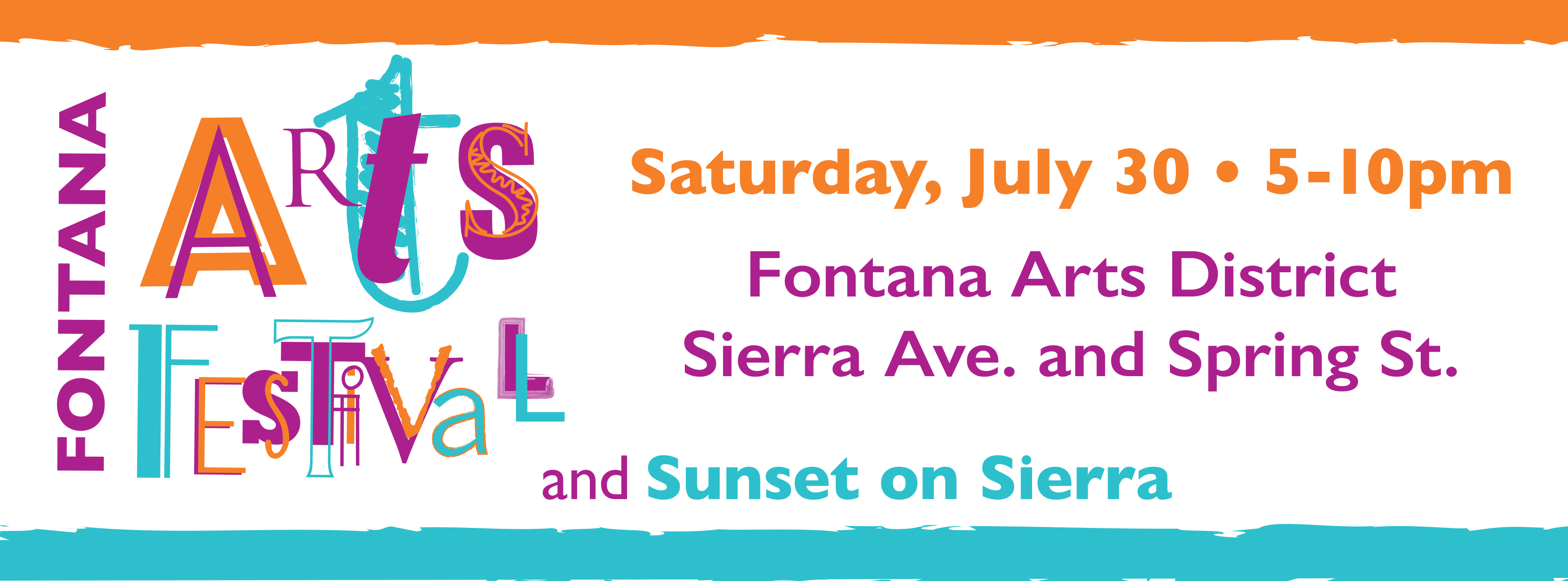 Fontana Arts Festival and Sunset on Sierra