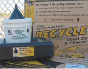 Oil Recycling Information Table
