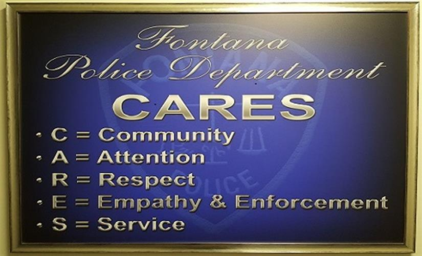 Fontana Police Department C.A.R.E.S.