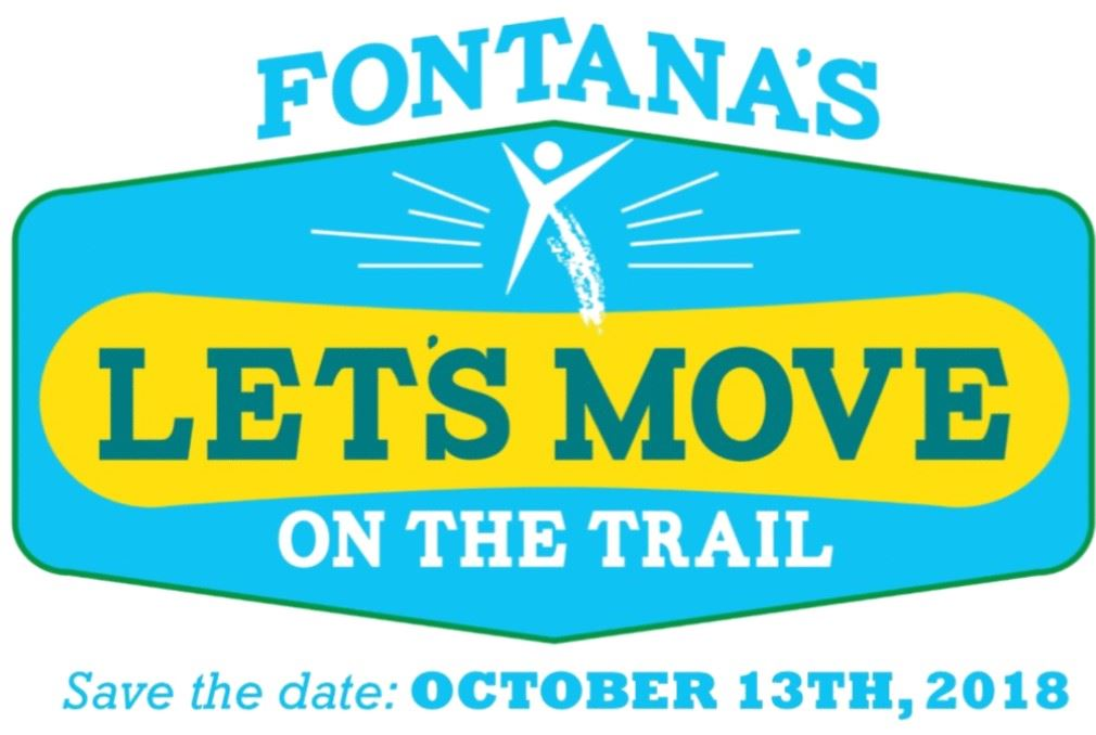 Lets Move On The Trails Event Logo