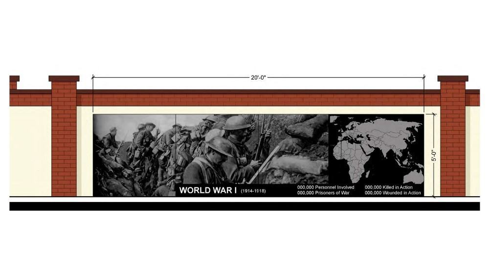 Veterans Memorial Concept - World War I