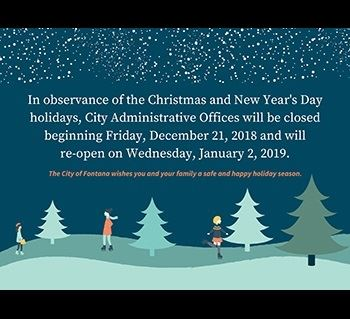 2018 Winter Closure
