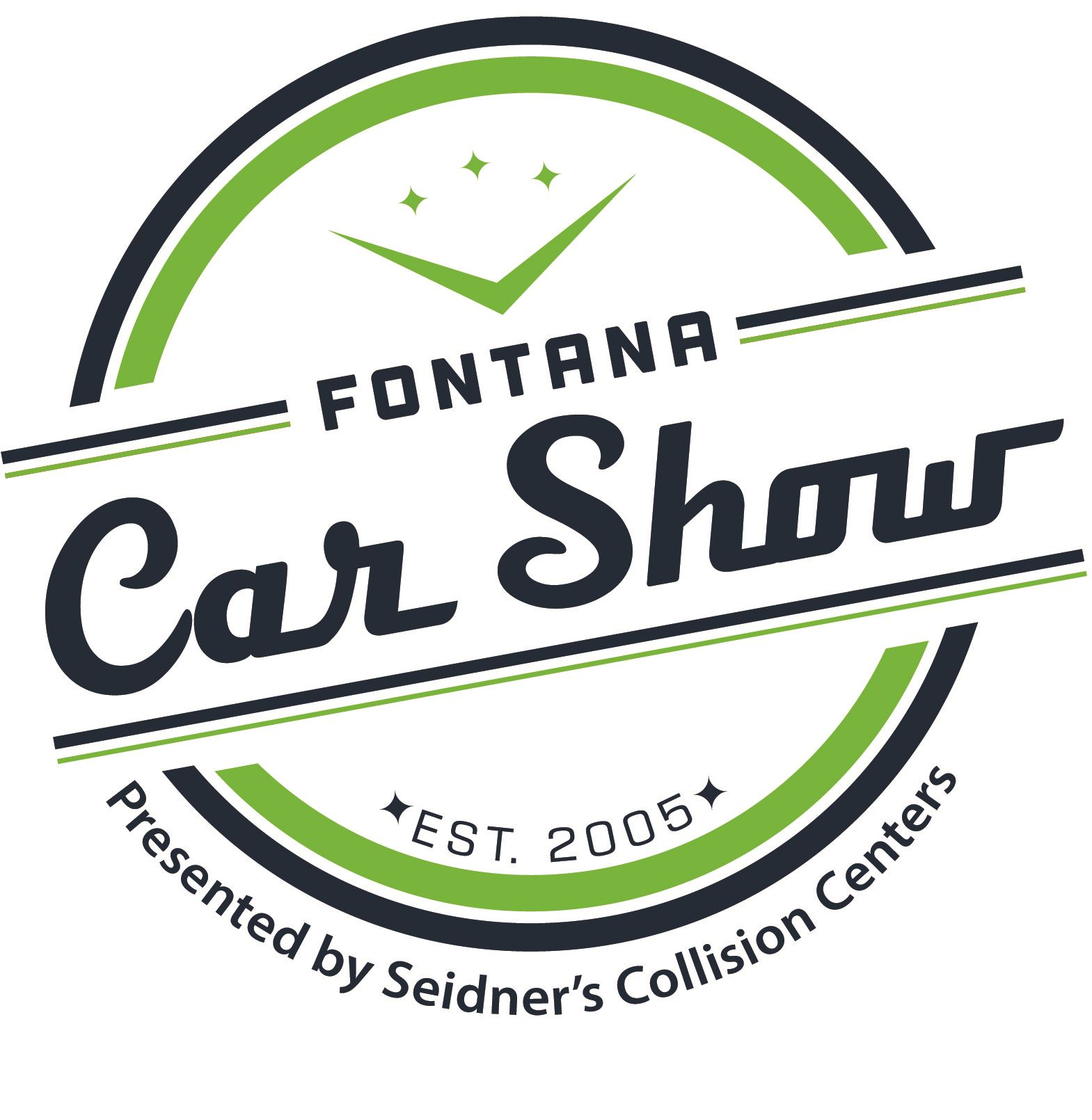 Car Show Logo White Bkgrnd