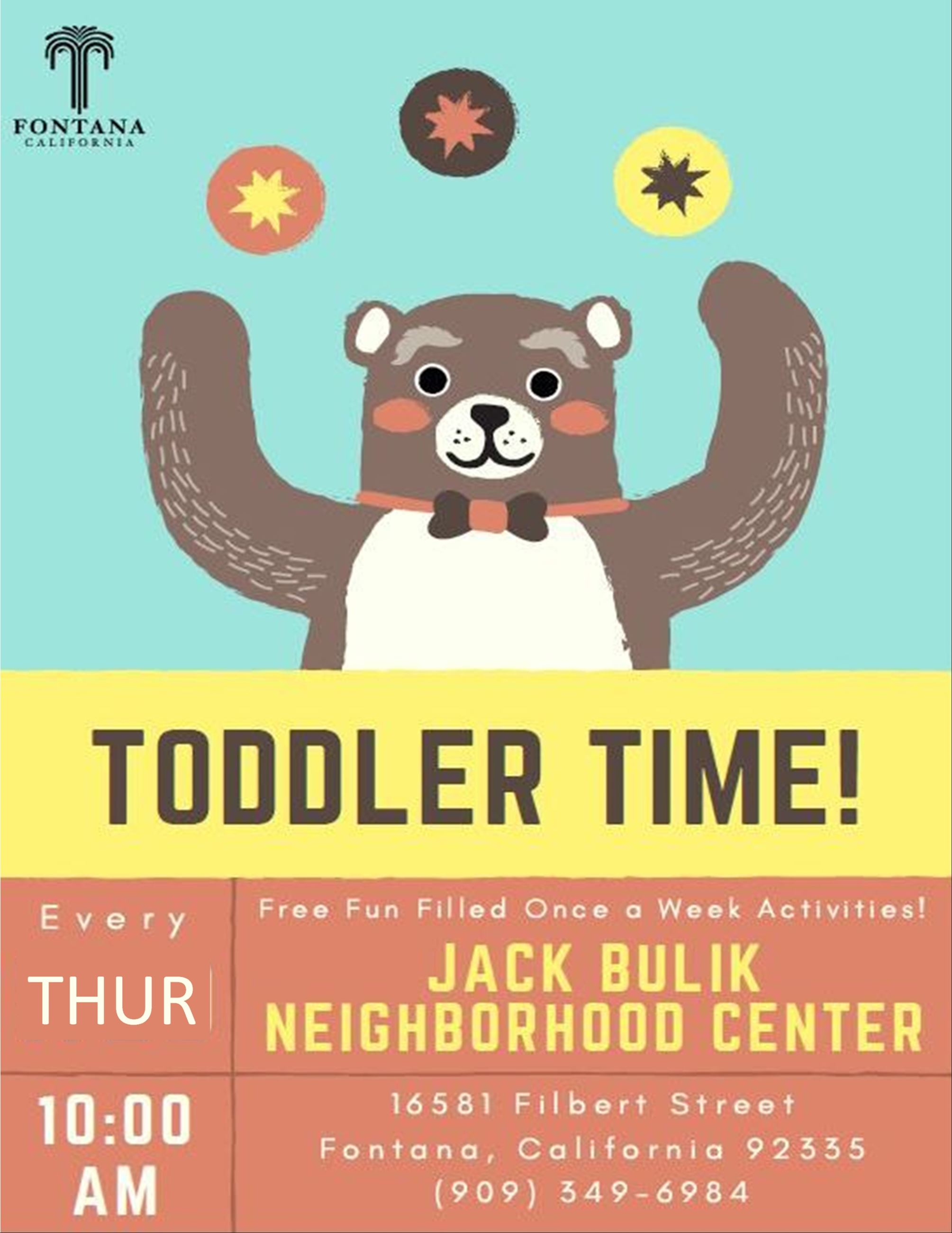 Toddler Time 2.0