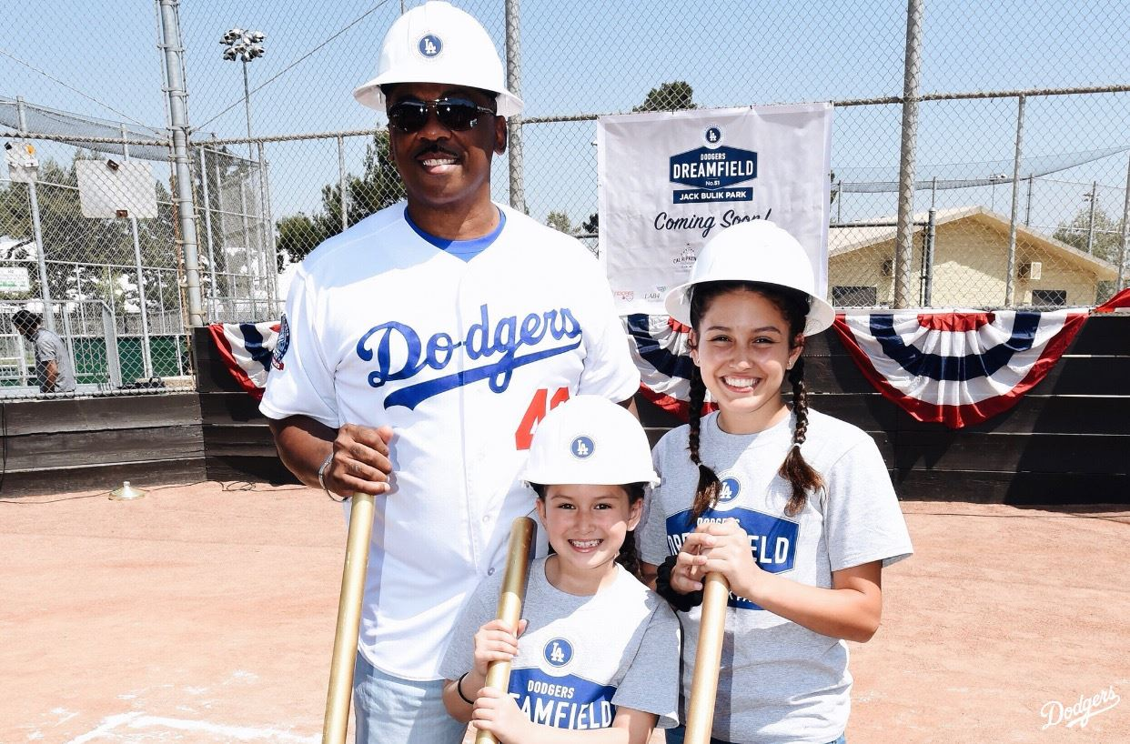 Dodgers Dreamfield Groundbreaking at Jack Bulik Park