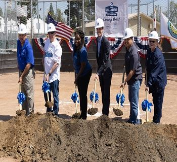 Dodgers Groundbreaking Dreamfield