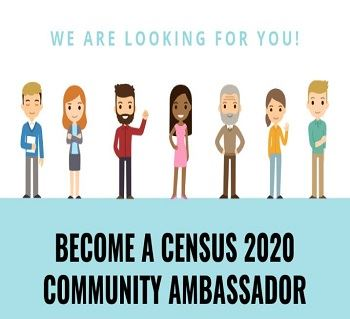 Census 2020 Community Ambassador Image