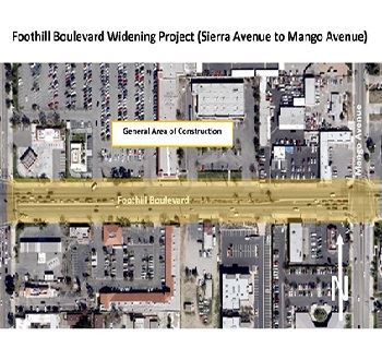 Foothill Widening Project