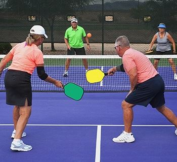 Senior Center Now Offers Pickelball