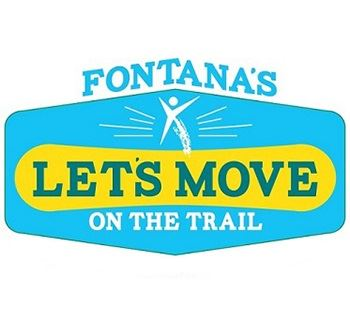 Lets Move on the Trail Logo
