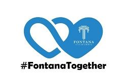 Fontana Together logo white