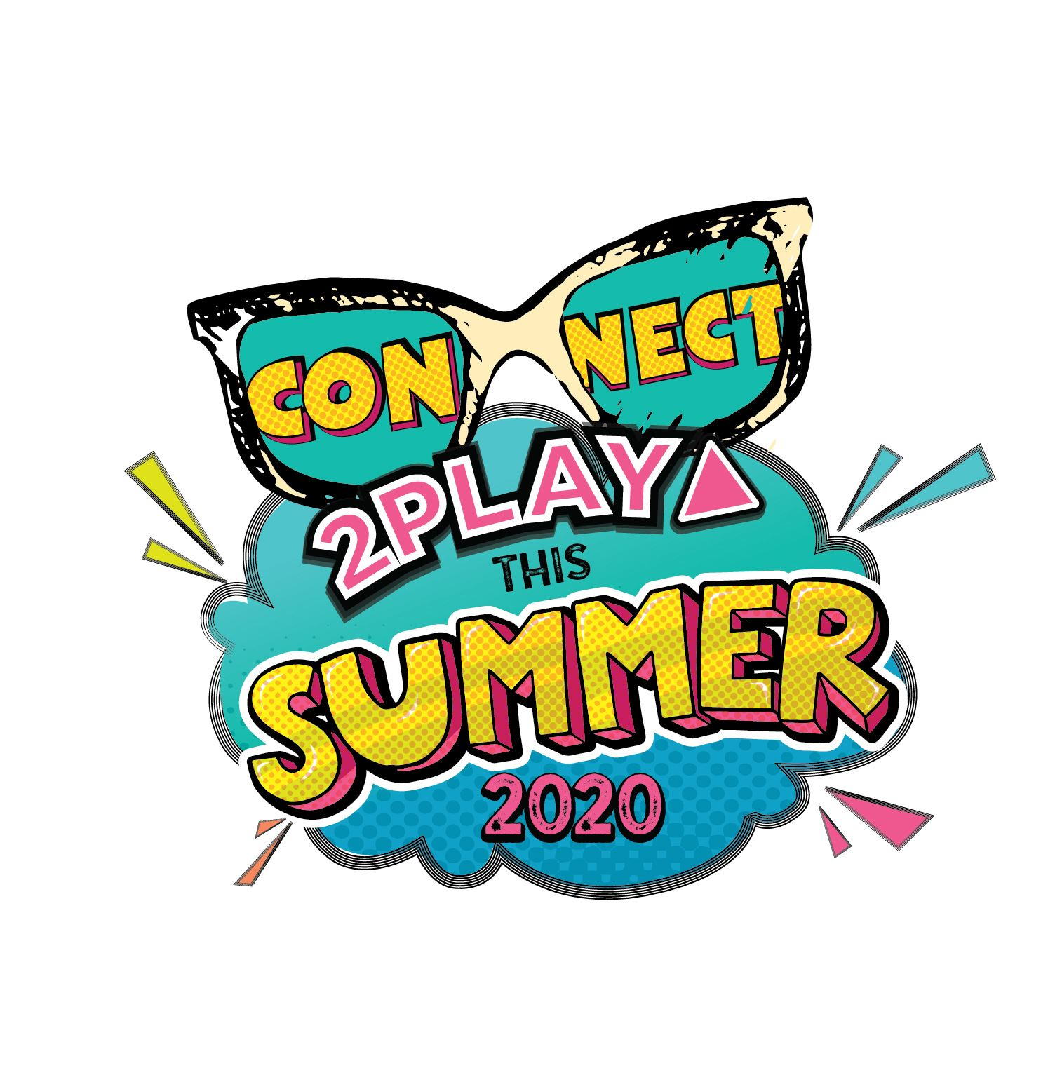 Summer Connect2Play Logo