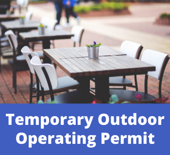 Temporary Outdoor Operating Permit