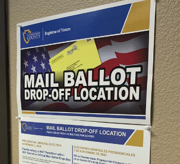 Mail Ballot Drop-Off Location