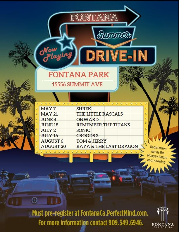 Summer Drive In Ad