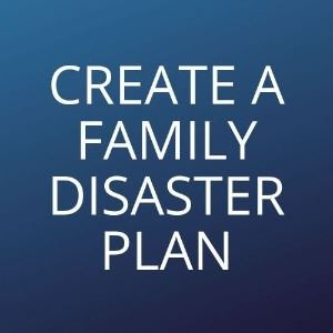 Create a family disaster plan Opens in new window
