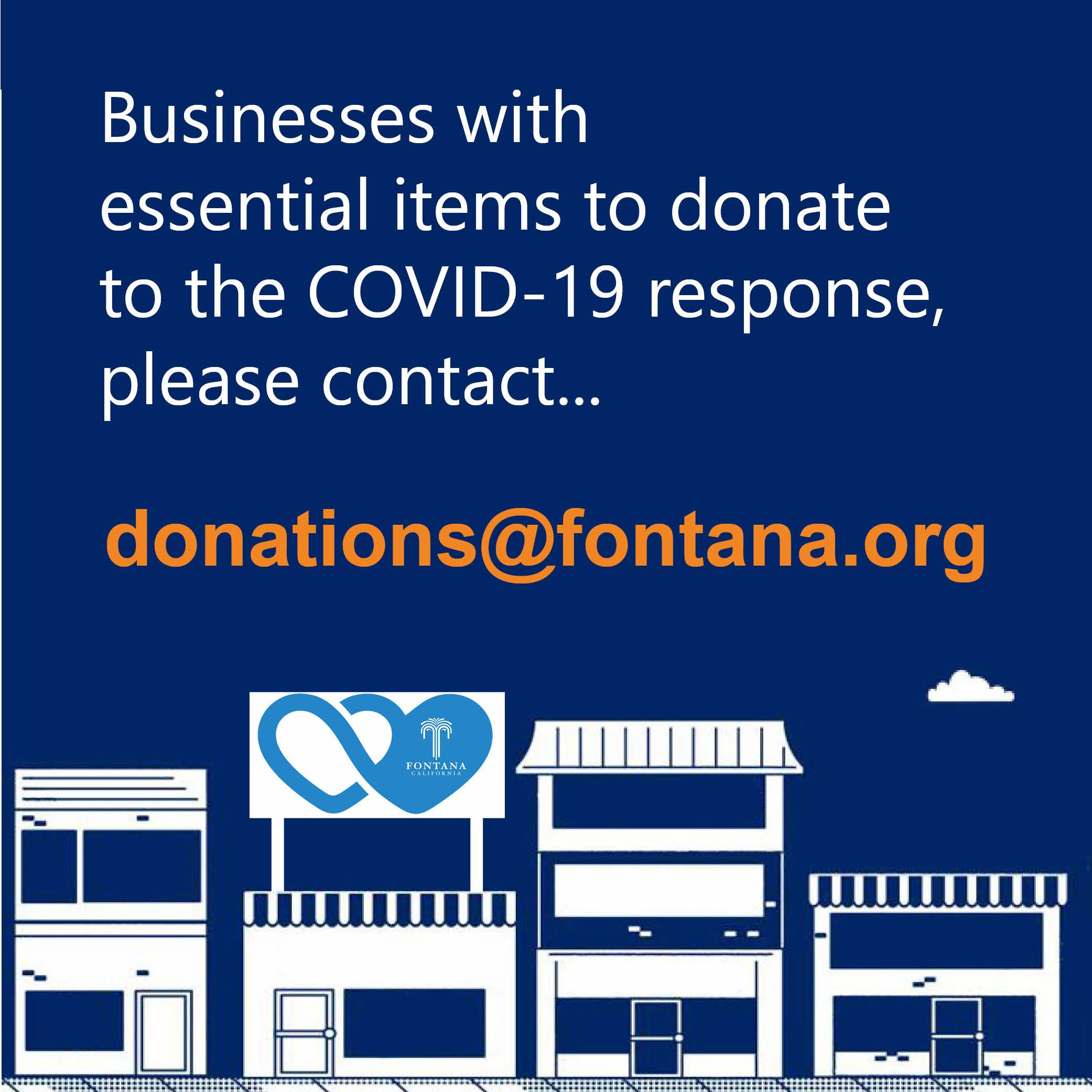 business donation