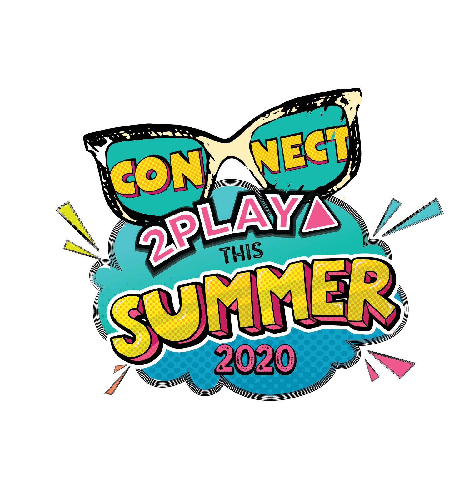 Summer 2020 Connect2Play Logo