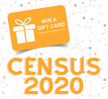 Census 2020 Gift Card Giveaway