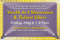 Youth Art Showcase and Talent Show
