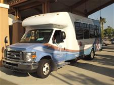 Photo of the new Senior Transportation Bus