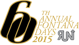 60th Annual Fontana Days Run