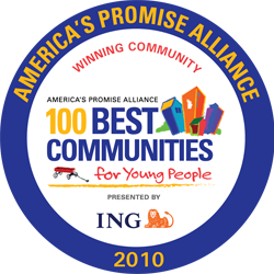 100 best communities seal