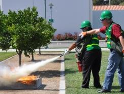 CERT Fire Training